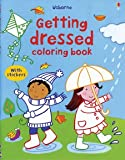 img - for Getting Dressed Coloring Book with Stickers (First Sticker Coloring Books) book / textbook / text book