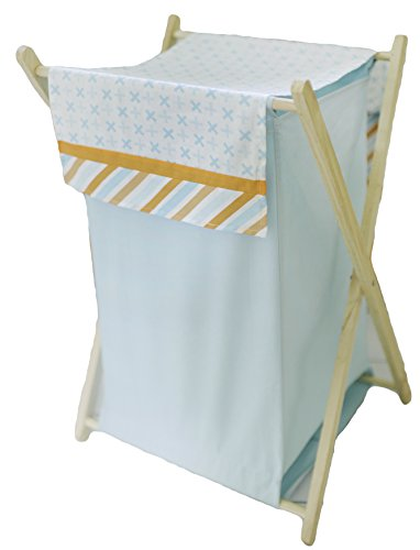 My Baby Sam Penny Lane Hamper, Orange/Aqua