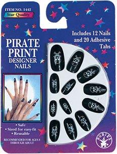 Rubie's Costume Co Pirate Print Nails Costume - 1