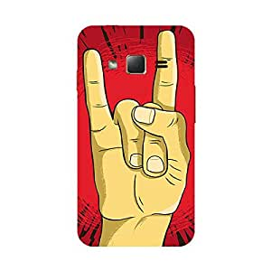 Garmor Designer Plastic Back Cover For Samsung Z1