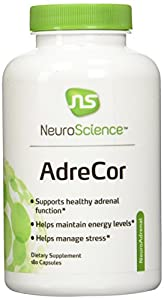 NeuroScience Adrecor Extract Capsules, 180 Count