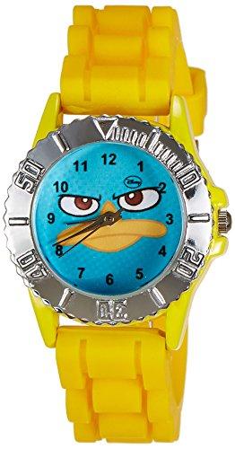 Disney Disney Analog Multi-Color Dial Boys's Watch - LP-1008 (Yellow) (Multicolor)