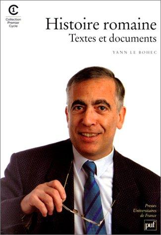 Histoire romaine : Textes et documents