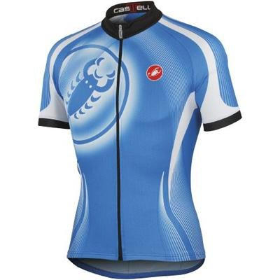 Buy Low Price Castelli 2012 Men's Punto Due Full Zip Short Sleeve Cycling Jersey – A12019 (B0076SXPXS)