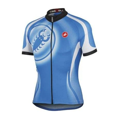 Castelli 2012 Men's Punto Due Full Zip Short Sleeve Cycling Jersey - A12019
