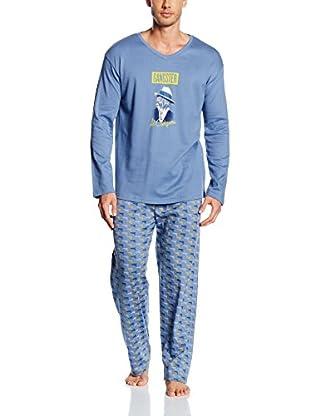 Arthur Pijama (Azul Claro)