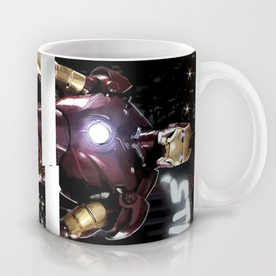 Society6 - Iron Man: Dreaming Big Coffee Tea Mug By Srb Productions