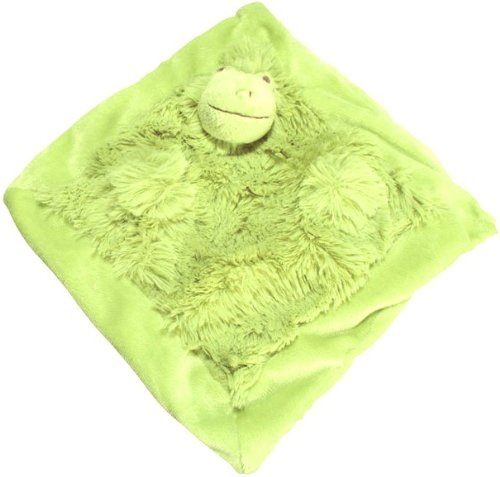 Pickles Mon Ami Doudou Baby Blanket, Frip Frog, 10.5""