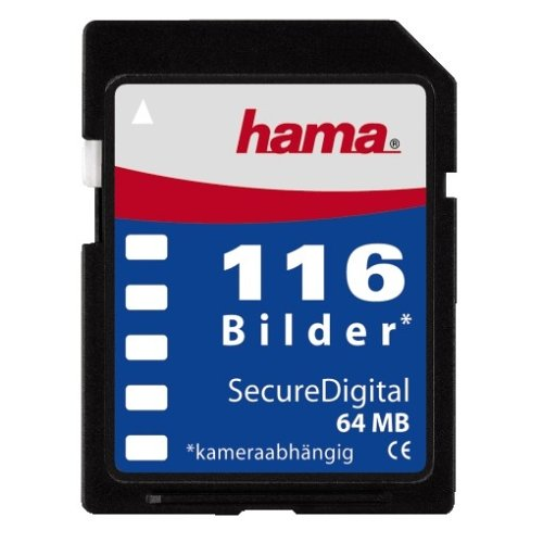 Hama Digital FOTOFILM SD 116 Bilder Secure Digital Speicherkarte (original Handelsverpackung)