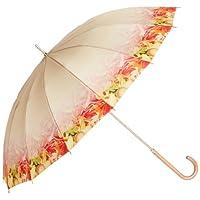 (ムーンバット)MOONBAT plantica×MOONBATコラボ 婦人長傘 フラワーグラデーション 多間