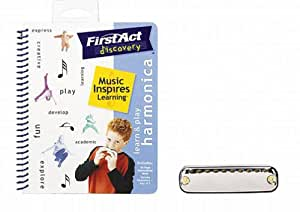 First Act Discovery LPH01 Learn & Play Harmonica