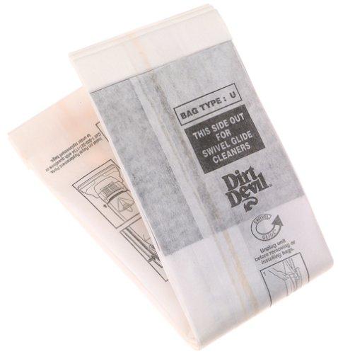 Dirt Devil Type U 3 Pak Vacuum Bags - 3920047001 (Dirt Devil Vacuum With Bag compare prices)