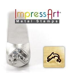 ImpressArt- 6mm, Dolphin Design Stamp