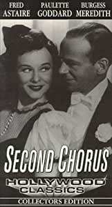 Second Chorus USA VHS Amazones Fred Astaire