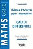 echange, troc Nicolas Tosel - Thèmes d'analyse pour l'Agrégation : Calcul différentiel