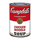Campbell's Soup I: Chicken Noodle, c.1968 Art Print Art Poster Print by Andy Warhol, 13x19