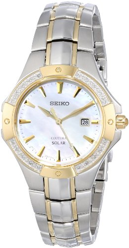 Seiko Coutura Mother-of-Pearl Dial Women's Watch #SUT124