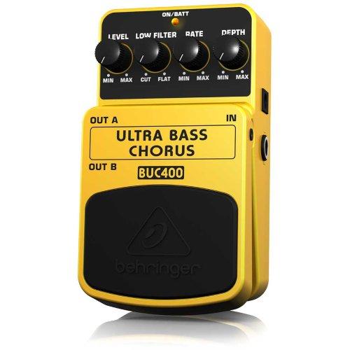 Behringer Buc400 Ultra Bass Chorus Ultimate Bass Chorus Effects Pedal
