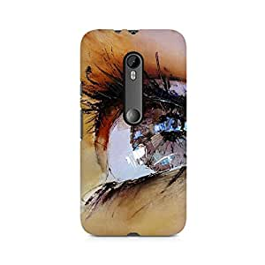 Mobicture Eyes Premium Printed Case For Moto X Force