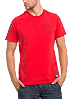 JACK WILLIAMS Camiseta Manga Corta (Rojo)