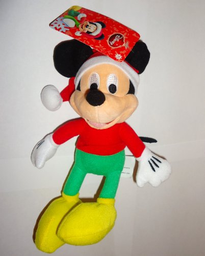 "Mickey Just Play Mickey Mouse Holiday Plush Doll 8"" - 1"
