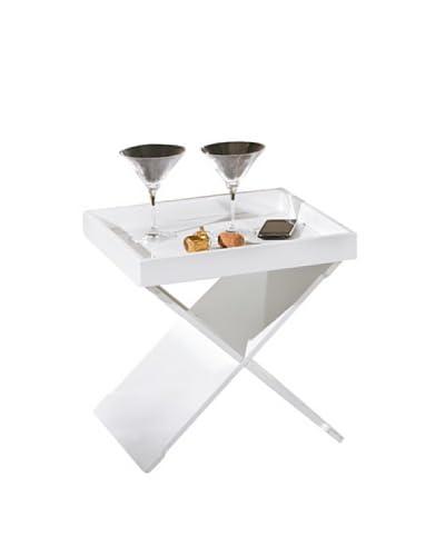 13 Casa  Tavolino Cube 8 Bianco 41 x 40 x 40 cm