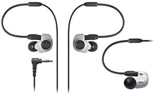 Audio-Technica ATH-IM50 Dual symphonic-driver In-ear Monitor headphones White (Japan Import)