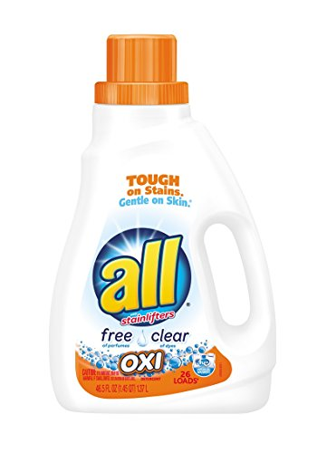 All Ultra Free Clear Oxi Liquid Laundry Detergent, 46.5 Ounce (Oxi Free Laundry compare prices)