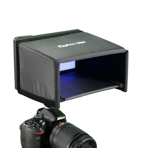 7 Inch Extra Deep Lcd Video Monitor Hood / Sunshade - New Design By Proam Usa