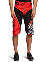 Alpinestars Gravity DH Bicycle Shorts, Medium/Large, Black/Red