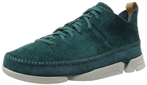 clarks-originals-trigenic-flex-mens-suede-casual-shoes-teal-40-eu