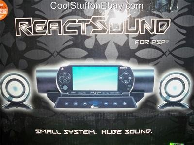 REACT SOUND PSP AUDIO SPEAKER SYSTEM