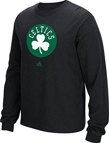 NBA Boston Celtics Men's Logo Long Sleeve Tee