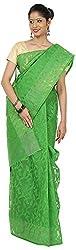 SHRI BALAJI SILK & COTTON SAREE EMPORIUM Women's Silk Cotton Saree (1(9))