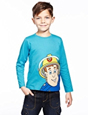 Pure Cotton Fireman Sam Top