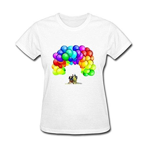 Tommery up pixar logo owncustom design cotton women 39 s t for Pixar logo t shirt