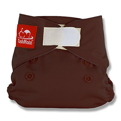 TushMate Newborn Diaper (Chocolate)