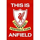 (24x36) Liverpool FC This Is Anfield Sports Poster Print
