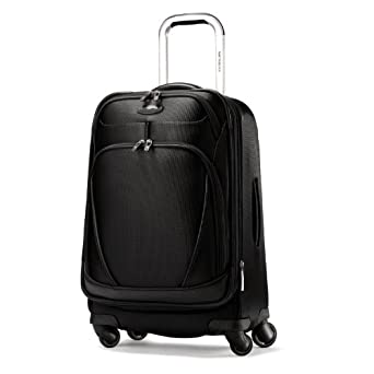 "Samsonite xSpace 21.5"" Carry On Spinner Luggage Galaxy Black"