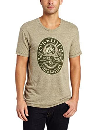 Lucky Brand Men's O'Kellys Irish Pub Graphic Tee, Army, Small