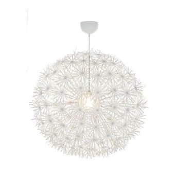 Ikea Maskros - Lampadario di carta, 80 cm di diametro, effetto dente ...