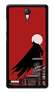 """Humor Gang Black Cape And Moonlights Printed Designer Mobile Back Cover For """"Xiaomi Redmi Note - Xiaomi Redmi Note 4G"""" (3D, Glossy, Premium Quality Snap On Case)"""