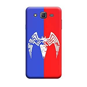 Samsung J7 2016 Spider the KillerPremium Designer Polycarbonate Hard Back Case Cover with full Protection