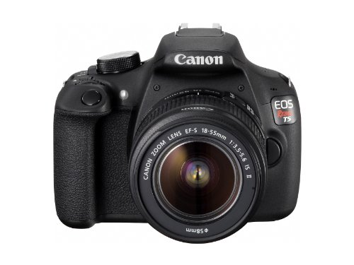Read About Canon EOS Rebel T5 EF-S 18-55mm IS II Digital SLR Kit
