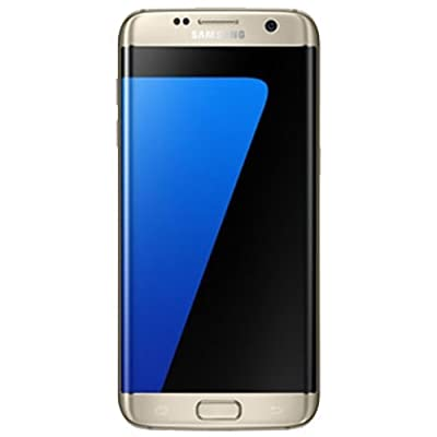 Samsung Galaxy S7 Edge SM-G935F Smart Phone 32 GB, Gold Platinum