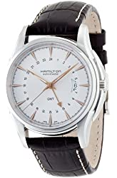 Hamilton Men's HML-H32585557 Jazzmaster Traveler Silver Dial Watch