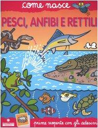 Pesci anfibi e rettili Con adesivi PDF