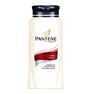 Pantene Pro-V Shampoo, Hydrating Curls, 25.4 fl oz (750 ml)