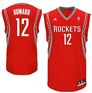 Buy Houston Rockets Dwight Howard #12 NBA Mens Replica Jersey, Red by adidas