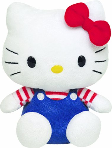 Ty Beanie Baby Hello Kitty - Usa front-1023526